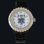 """EMT Blue Star of Life Wristwatch<br><div class=""""desc""""></div>"""