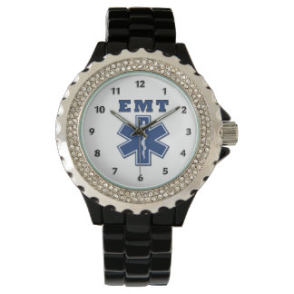 EMT Blue Star of Life Wristwatch