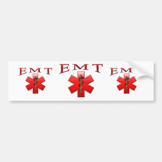EMT BUMPER STICKER