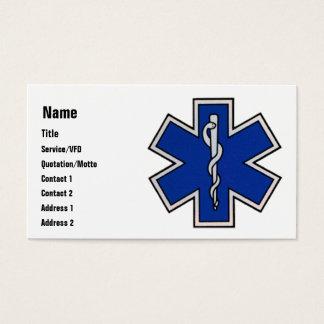 EMT Business Card Template