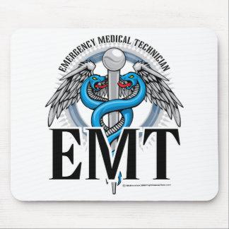 EMT Caduceus Blue Mouse Pad