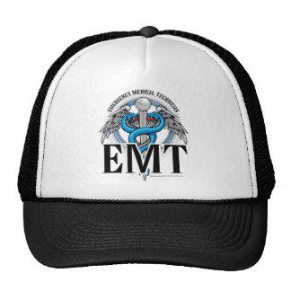 EMT Caduceus Blue Trucker Hat