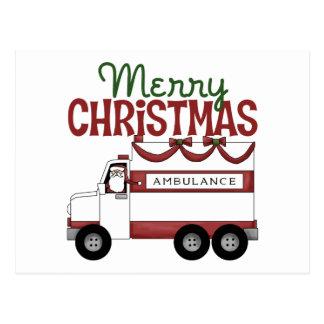 EMT Christmas Gift Postcard