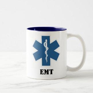 EMT Coffee Two-Tone Coffee Mug