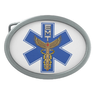 EMT Customize Edit Change Background Color Belt Buckle