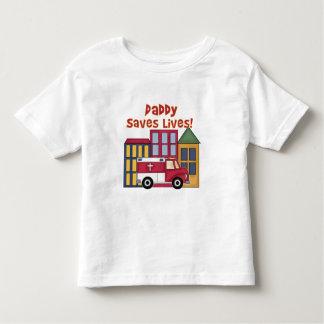 EMT Daddy Saves Lives Toddler T-shirt