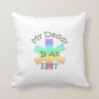 EMT Daddy Throw Pillow