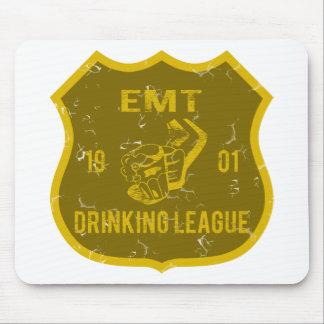EMT Drinking League Mouse Pad