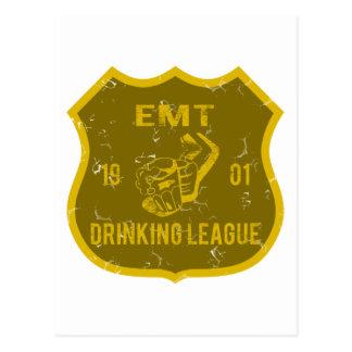 EMT Drinking League Postcards