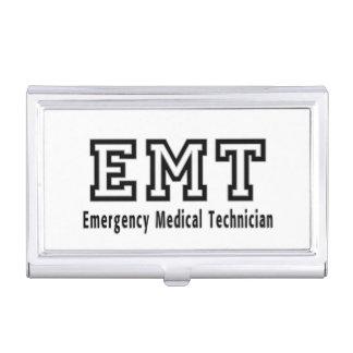 EMT Emergency Medical Technician Business Card Case