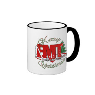 EMT Emergency Medical Technician CHRISTMAS Mug