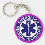EMT Emergency Medical Technician Key Chain