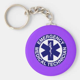 EMT Emergency Medical Technician Keychain