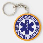 EMT Emergency Medical Technician Keychains