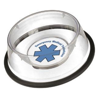EMT Emergency Medical Technician Pet Bowl