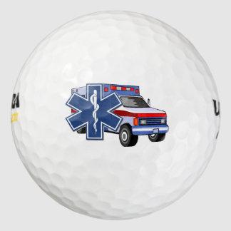 EMT EMS Ambulance Golf Balls