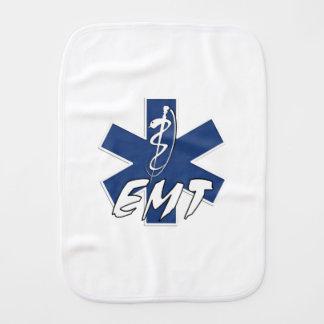 EMT Family Baby Burp Cloths