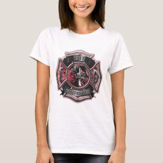 EMT Firefighter red. T-Shirt