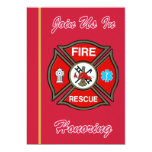 EMT Firefighter Retirement Invitation