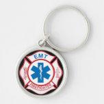 EMT Firefighter Symbol Keychain
