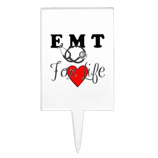 EMT For Life Cake Topper