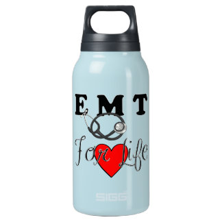 EMT For Life Insulated Water Bottle