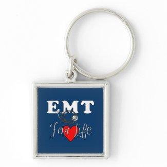 EMT For Life keychain