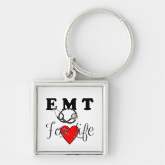 EMT For Life Keychain