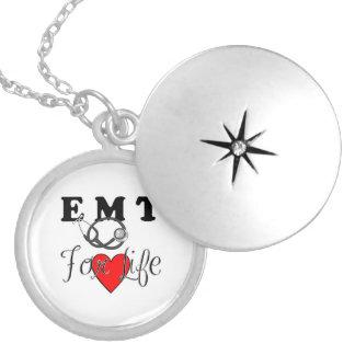 EMT For Life Locket Necklace