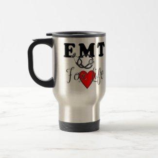 EMT For Life mug