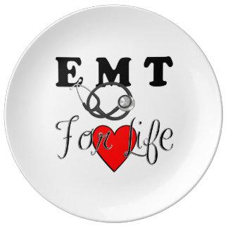 EMT For Life Porcelain Plate