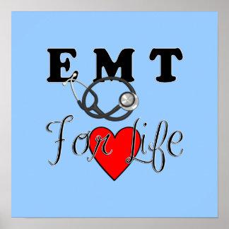EMT For Life Poster