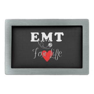 EMT For Life Rectangular Belt Buckle