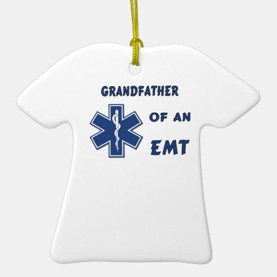 EMT Grandfather Ceramic Ornament