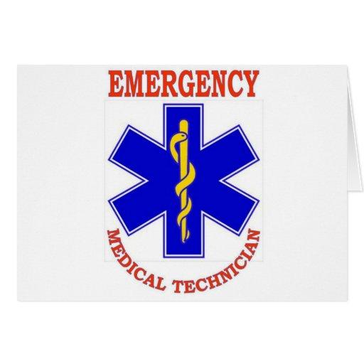 EMT GREETING CARD