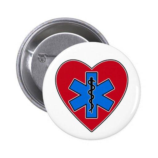 EMT Heart Buttons