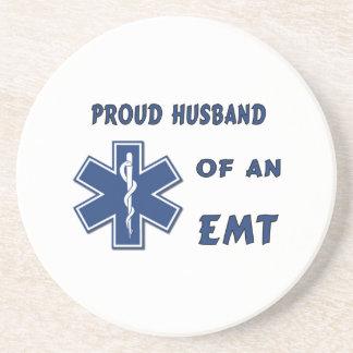 EMT Husband Beverage Coasters