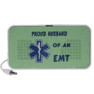 EMT Husband Notebook Speakers