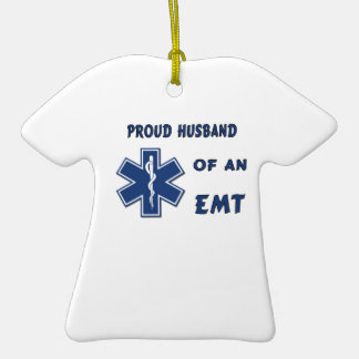 EMT Husband Ornaments