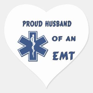 EMT Husband Sticker
