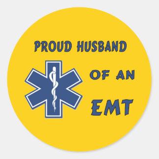 EMT Husband Stickers