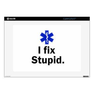 """EMT I fix stupid 15"""" Laptop Skins"""