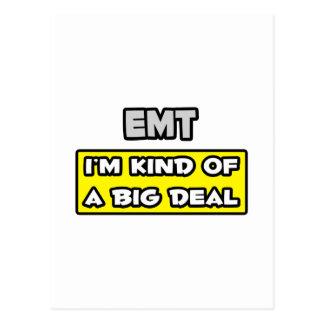 EMT I m Kind of a Big Deal Postcard