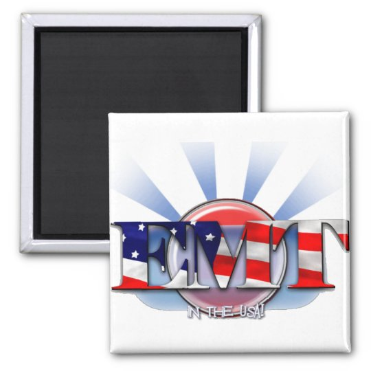 EMT in the USA (EMERGENCY MEDICAL TECH) Magnet