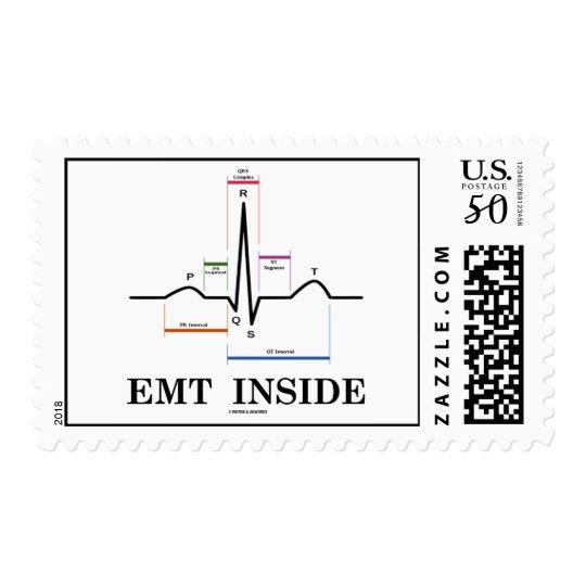 EMT Inside (ECG / EKG Electrocardiogram) Postage