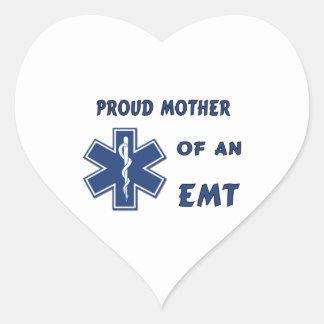 EMT Mother Heart Sticker