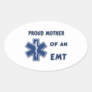 EMT Mother Oval Sticker