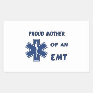 EMT Mother Rectangular Sticker