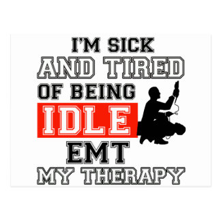 EMT my therapy Post Card