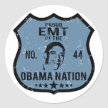 EMT Obama Nation Classic Round Sticker